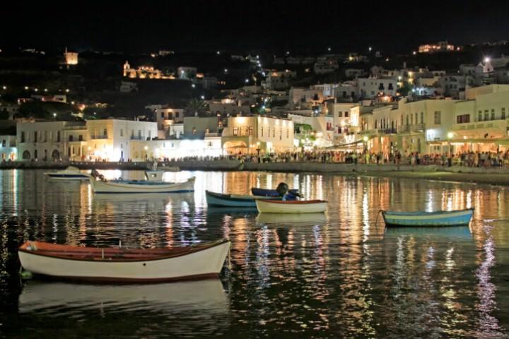Nightlife on Mykonos
