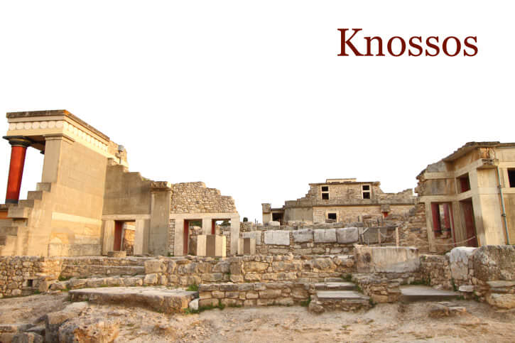 History of the Palace of Knossos in Crete