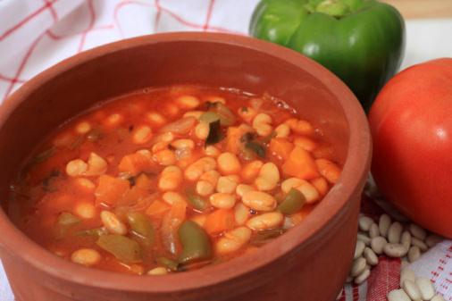 greek white bean soup horizontal