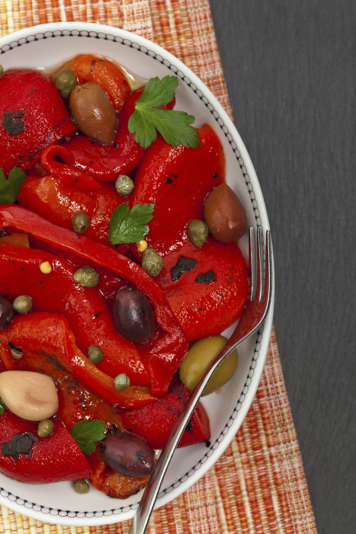 Greek Style Grilled Peppers