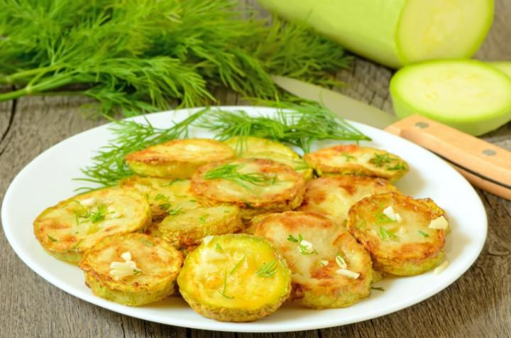 Recipe for Greek Style Fried Zucchini