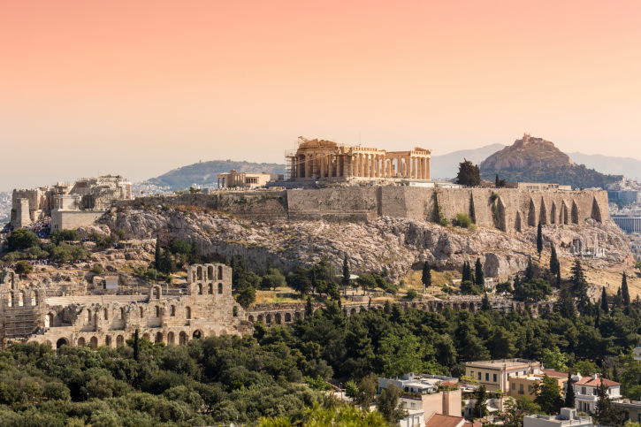 Parthenon temple , Greece