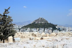 Lykavittos Hill In Athens