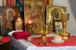 Communion with Prosforo