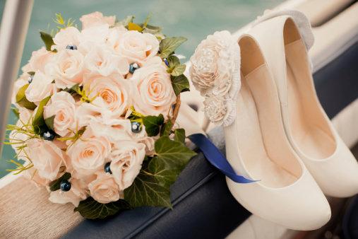Bridal Shoes - A Greek Wedding Tradition