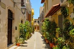 Narrow Street Rethymnon