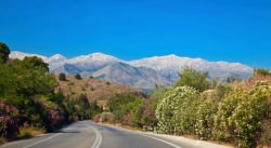 Country Road in Crete