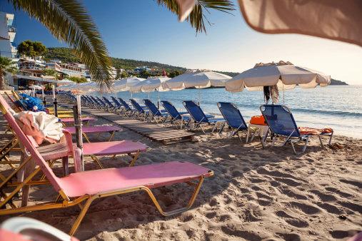 Beach on Aegina