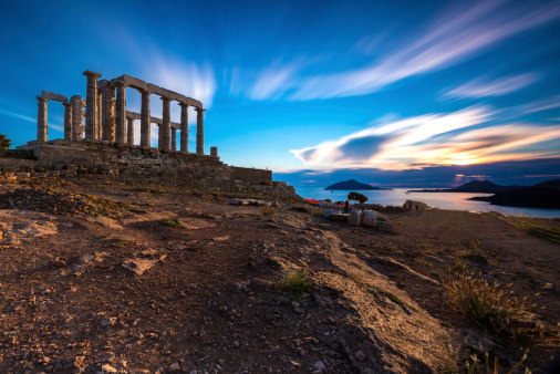 Temple of Poseidon - Cape Sounion