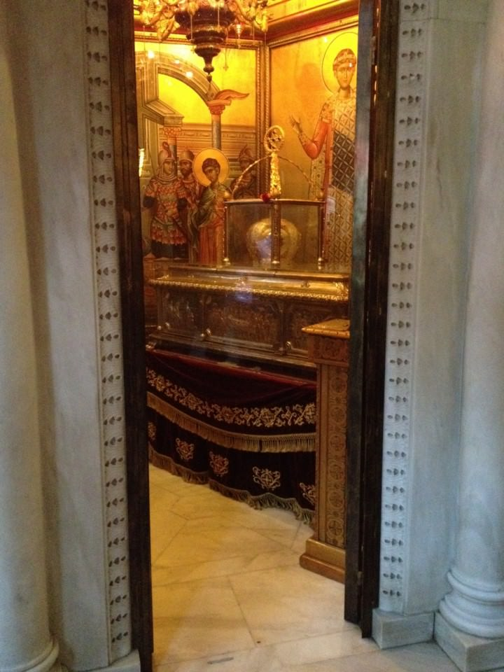 Reliquary of St. Demetrios