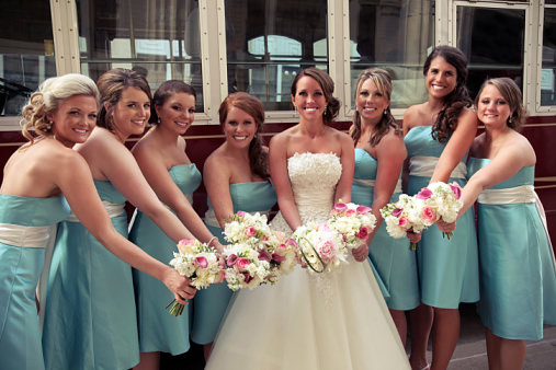 Selecting Your Bridesmaid Dresses