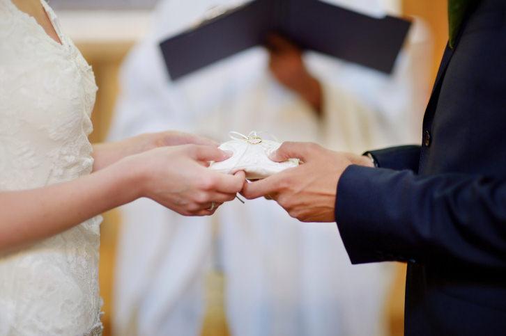 No Vows in a Greek Wedding?