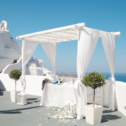 Outdoor Greek Wedding