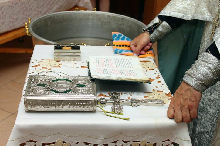 Three Sacraments Christening