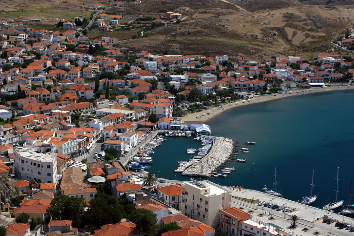 Port of Myrina - Limnos