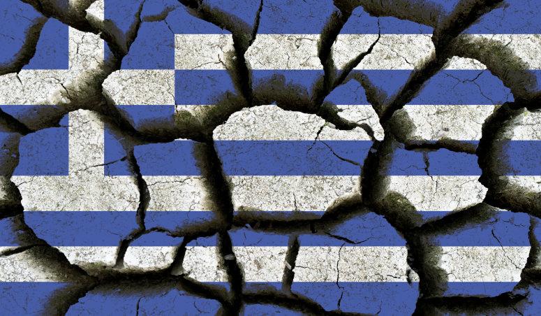Broken Greece in World War II