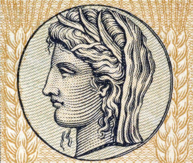 Demeter, Greek Goddess of Grain and Fertility