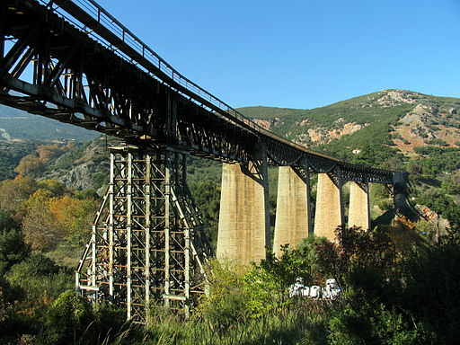 By George Terezakis (originally posted to Flickr as Gorgopotamos Bridge) [CC-BY-SA-2.0 (http://creativecommons.org/licenses/by-sa/2.0)], via Wikimedia Commons