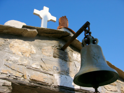 Church in Ikaria, Greece