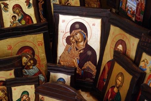 Greek Orthodox Religious Icons