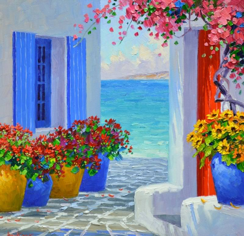 paint night at taxiarchae archangels greek orthodox church