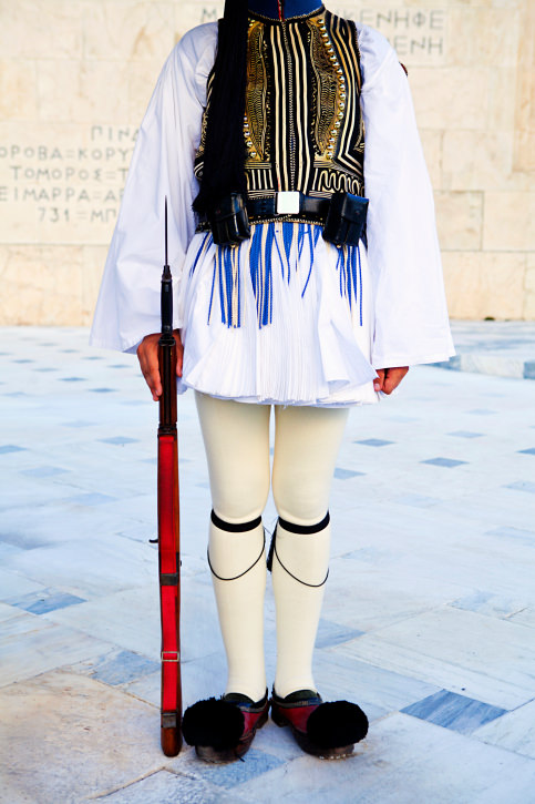 History of the Traditional Evzone Uniform