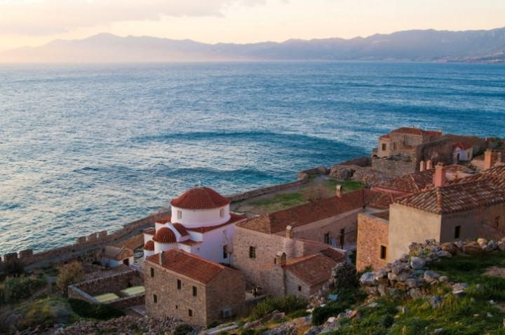 Monemvasia  Medieval Town in the Peloponnese