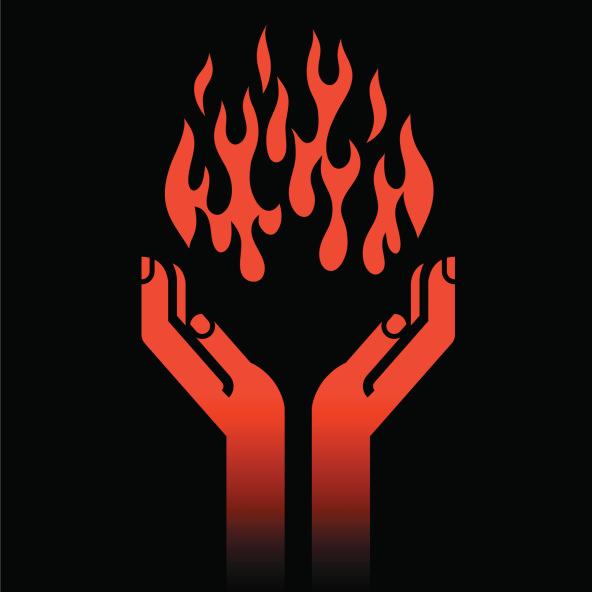 Prometheus Gives Mankind Fire
