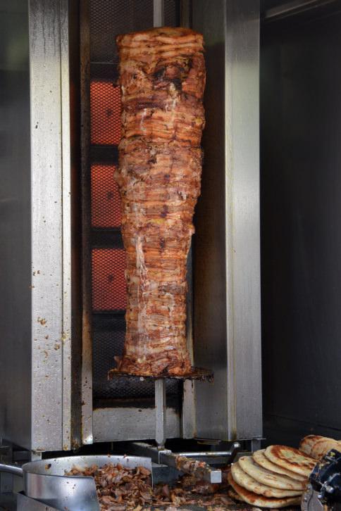 pork gyros and pita bread
