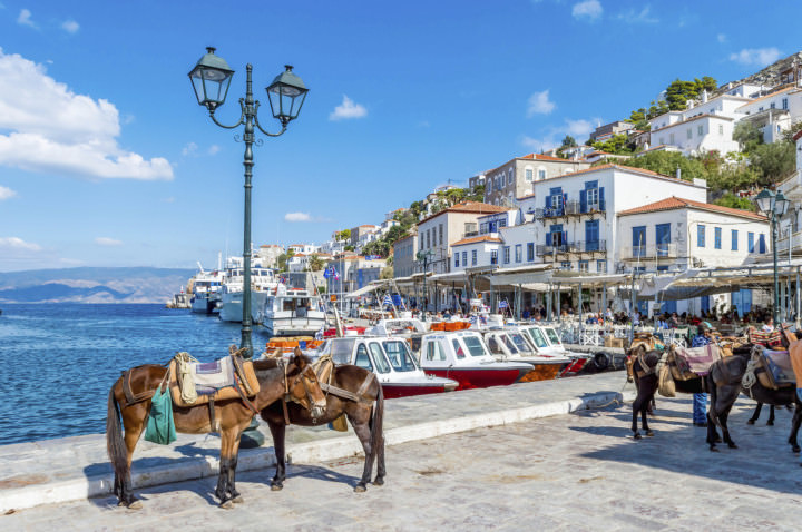 Hydra is an Unspoiled Greek Island