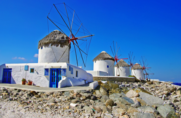 Mykonos Island,Cyclades,Greece.