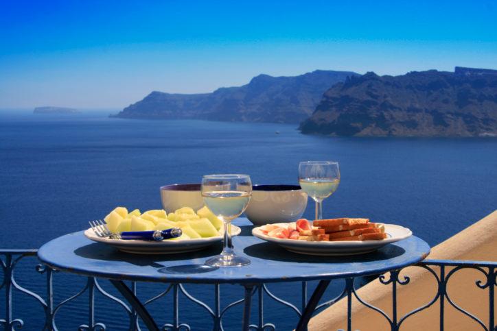Greek Food White Wine