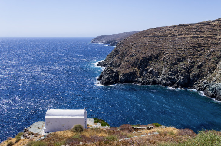 Amazing view in Sifnos island, Cyclades, Greece