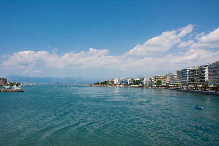 Beach of Chalkis, Greece