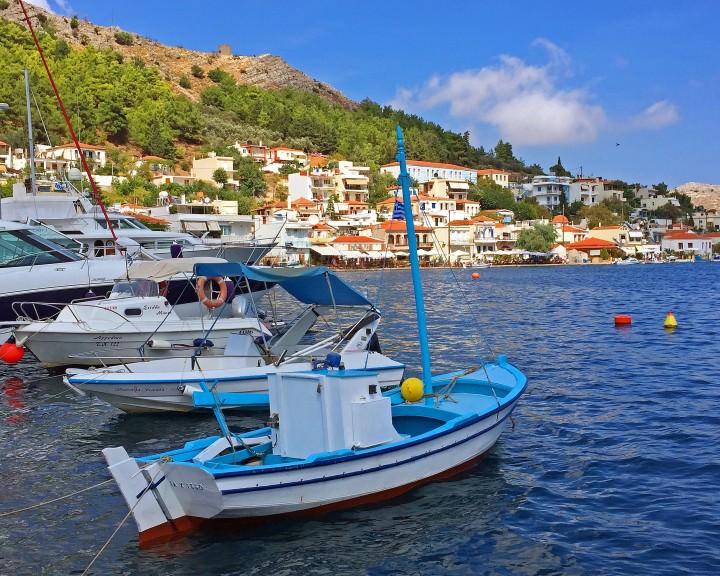 Lagkada, Chios Island, Greece