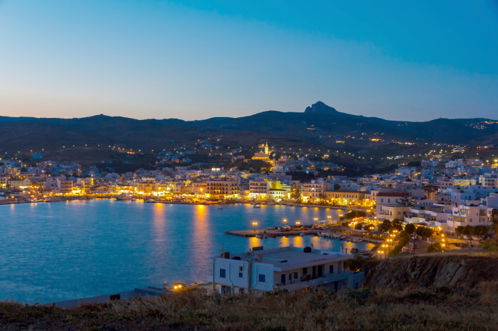 Tinos island at Cyclades, Greece