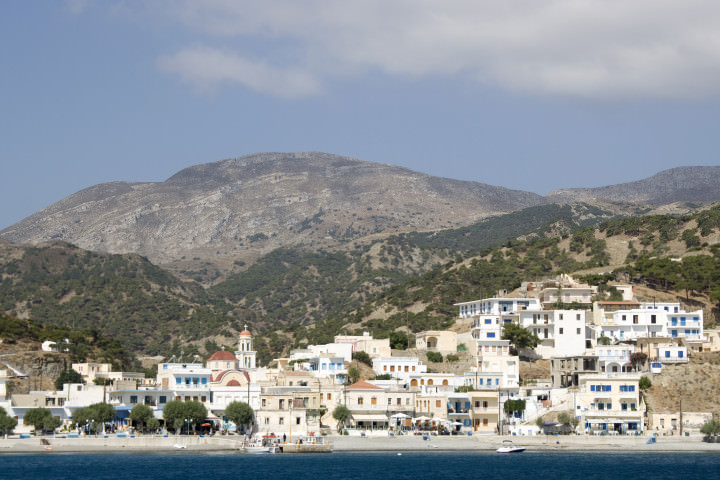 Diafani - small Greek seaside village in Karpathos