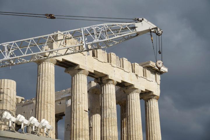 Restoration of Parthenon