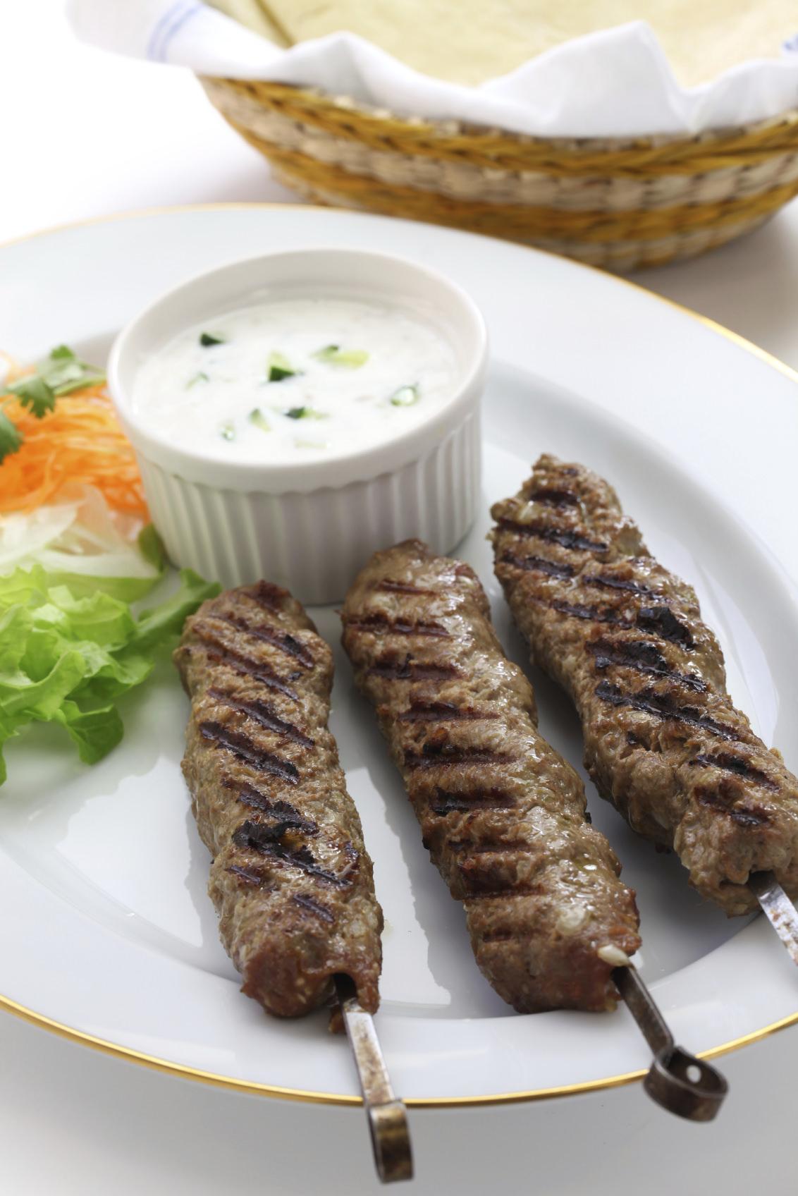 Greek Style Ground Lamb Kebabs Recipe