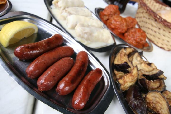 Loukanika Greek Sausage