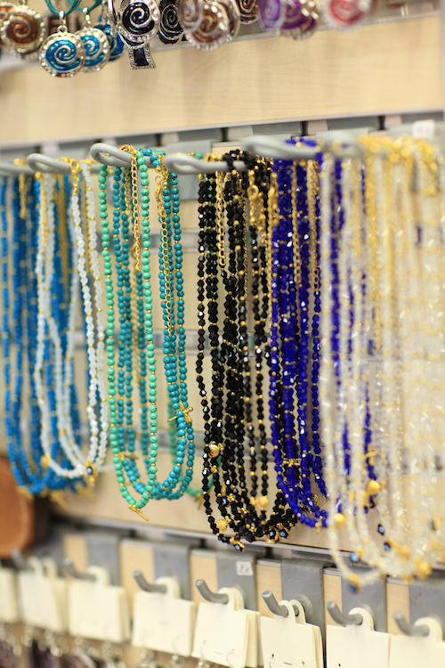 The beads at the market in Athens