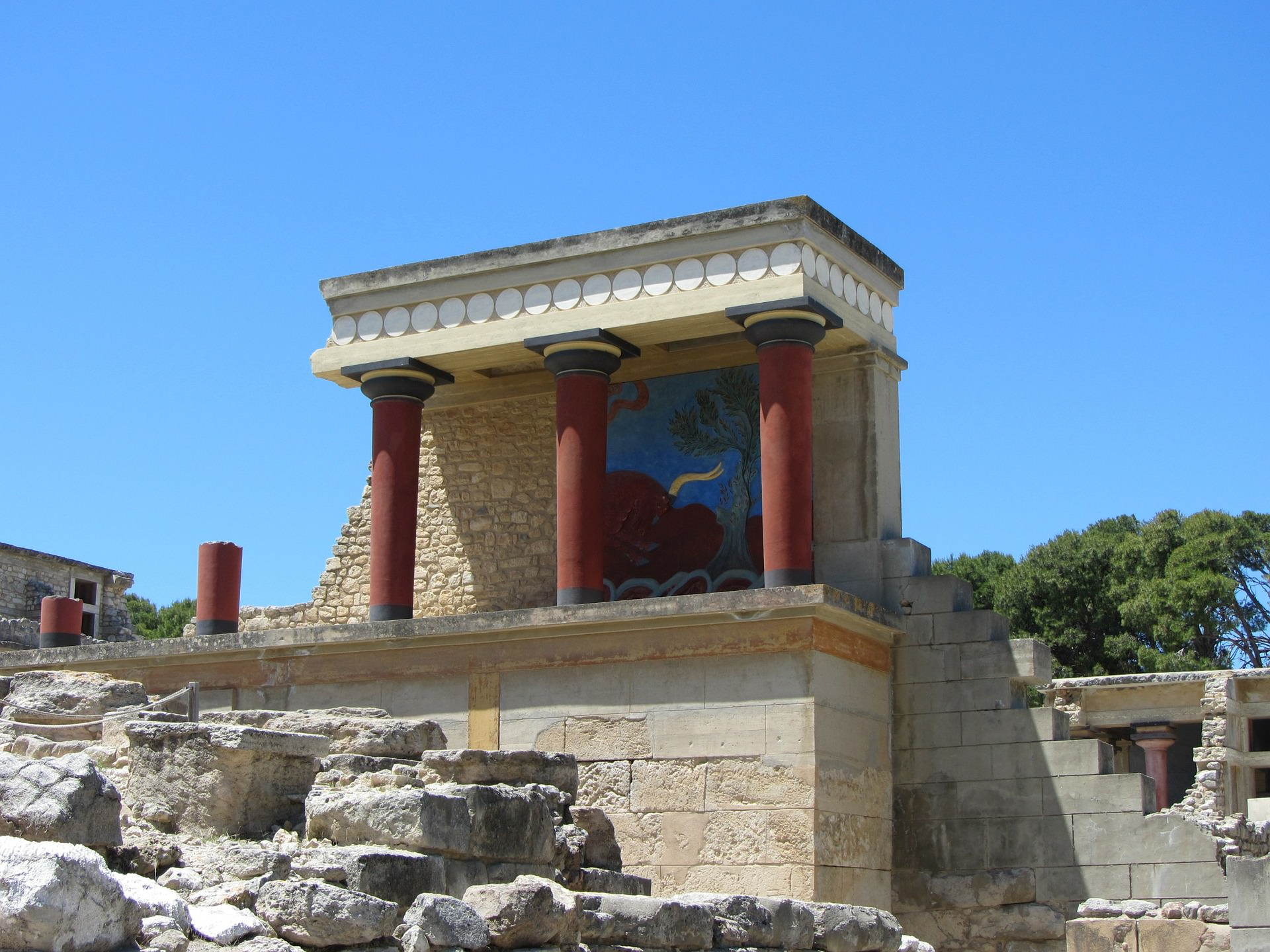 What was the role of the minoan palaces in ancient greece sciox Images