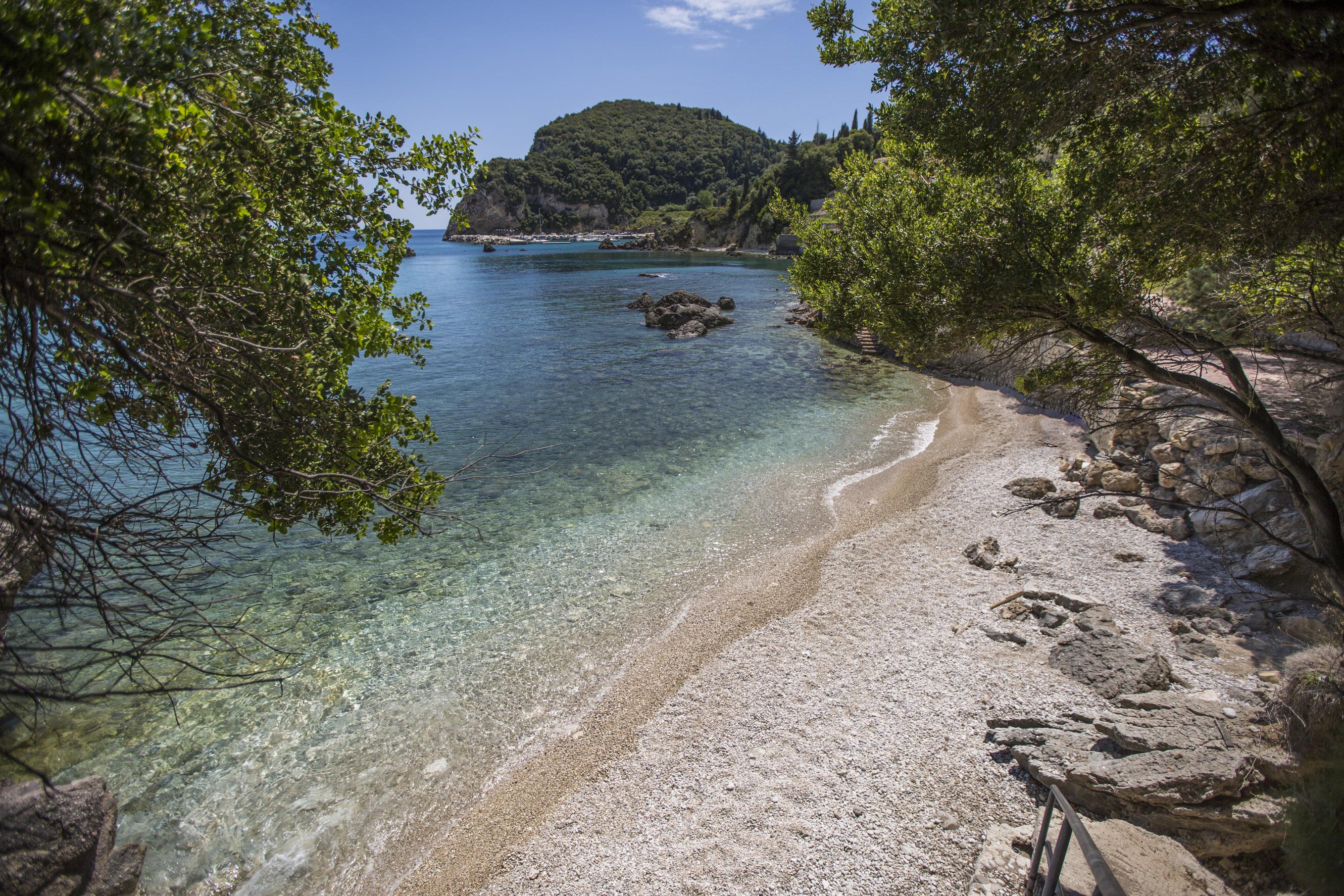 Paleokastritsa Beach Best family beaches to visit vorfu