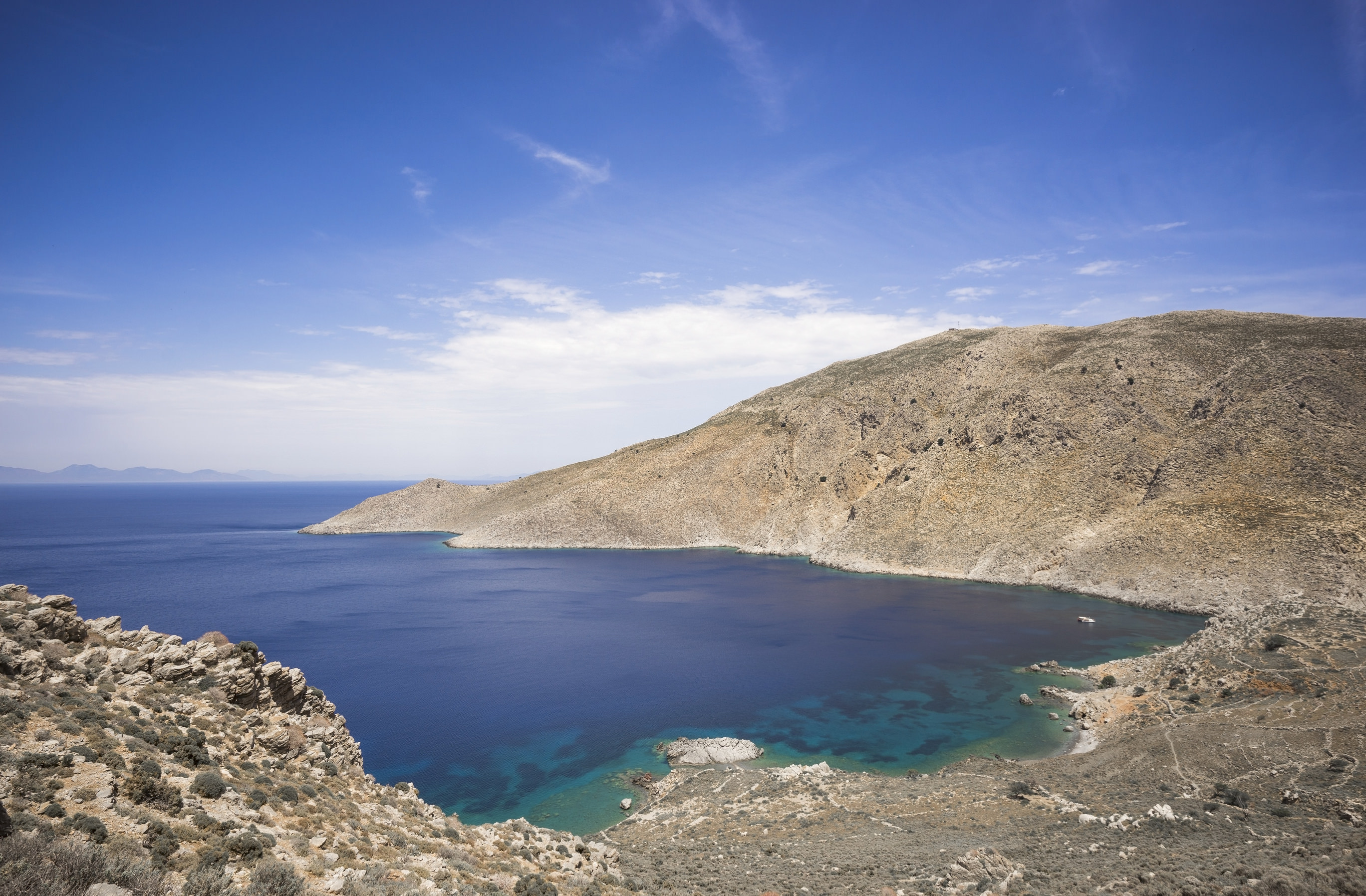 Walking Trail, north coast of Tilos