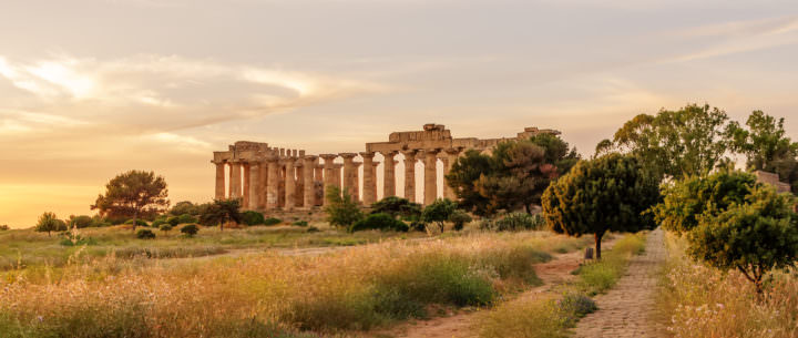 History of the City of Selinunte in Ancient Greece