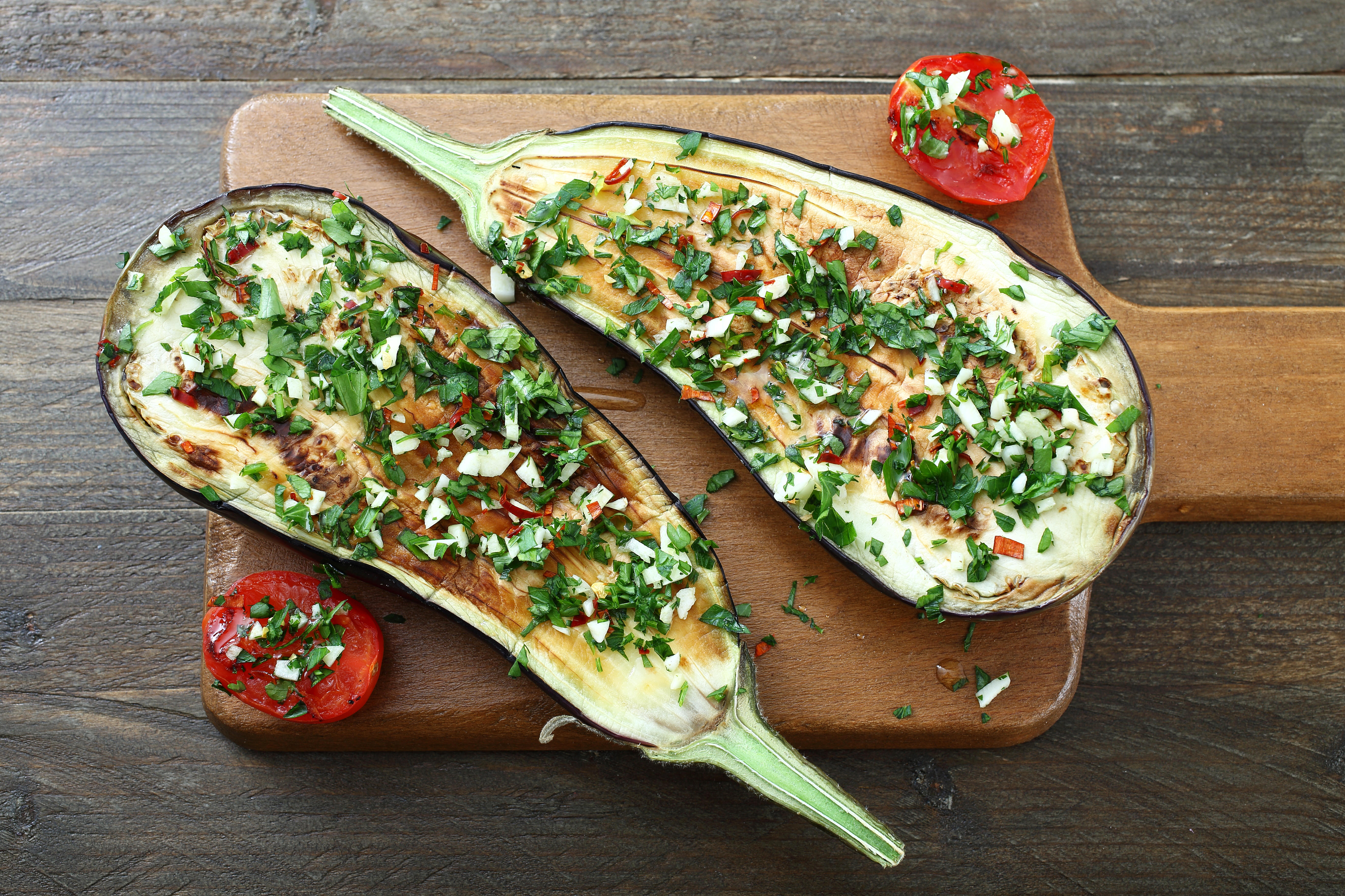 Recipe greek style eggplant stuffed with caviar forumfinder Image collections
