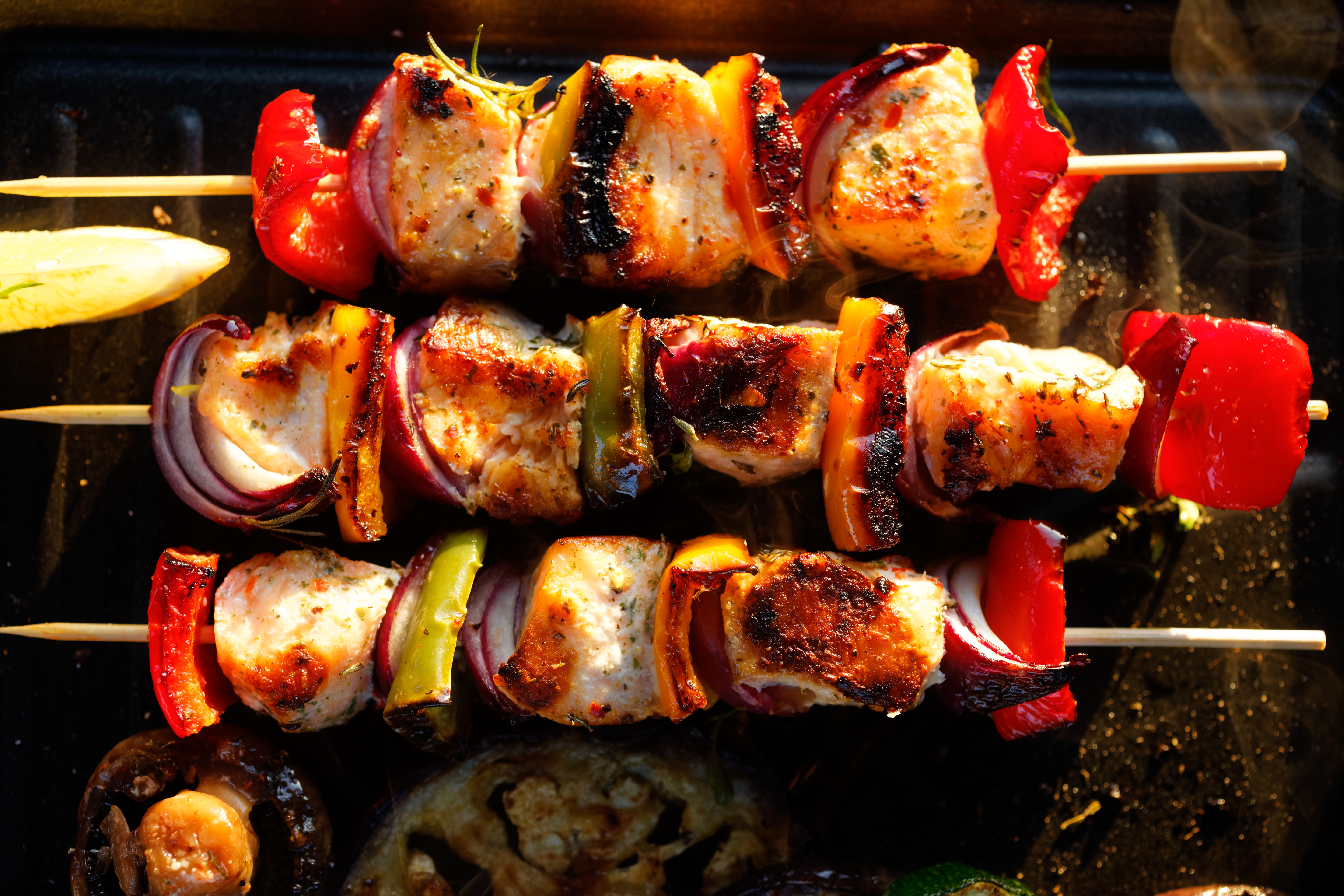 Recipe For Greek Style Fish Kebabs
