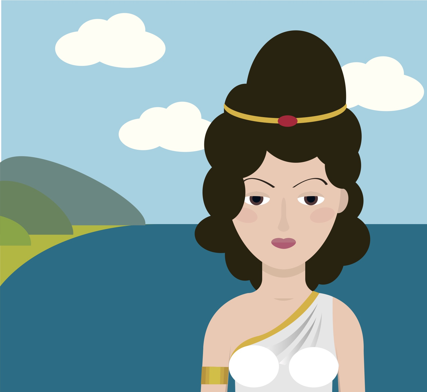 Cursed Prophetess Of Greek Mythology