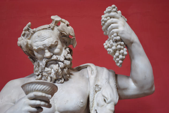 The horrible roman interpretation of dionysos