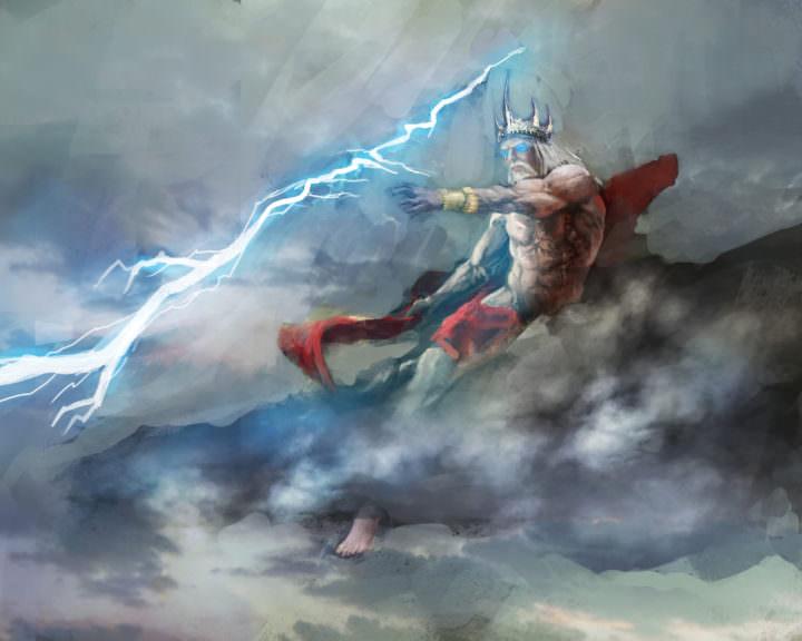 Famous Poseidon Paintings